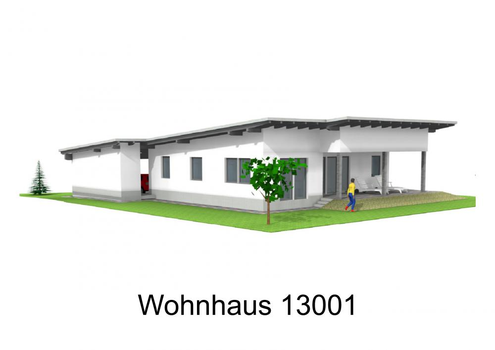 Rendering von Wohnhaus 13001