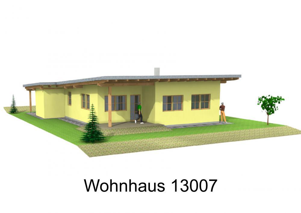 Rendering von Wohnhaus 13007