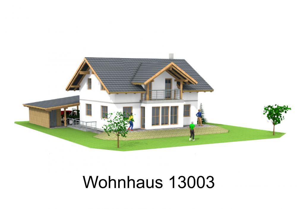 Rendering von Wohnhaus 13003