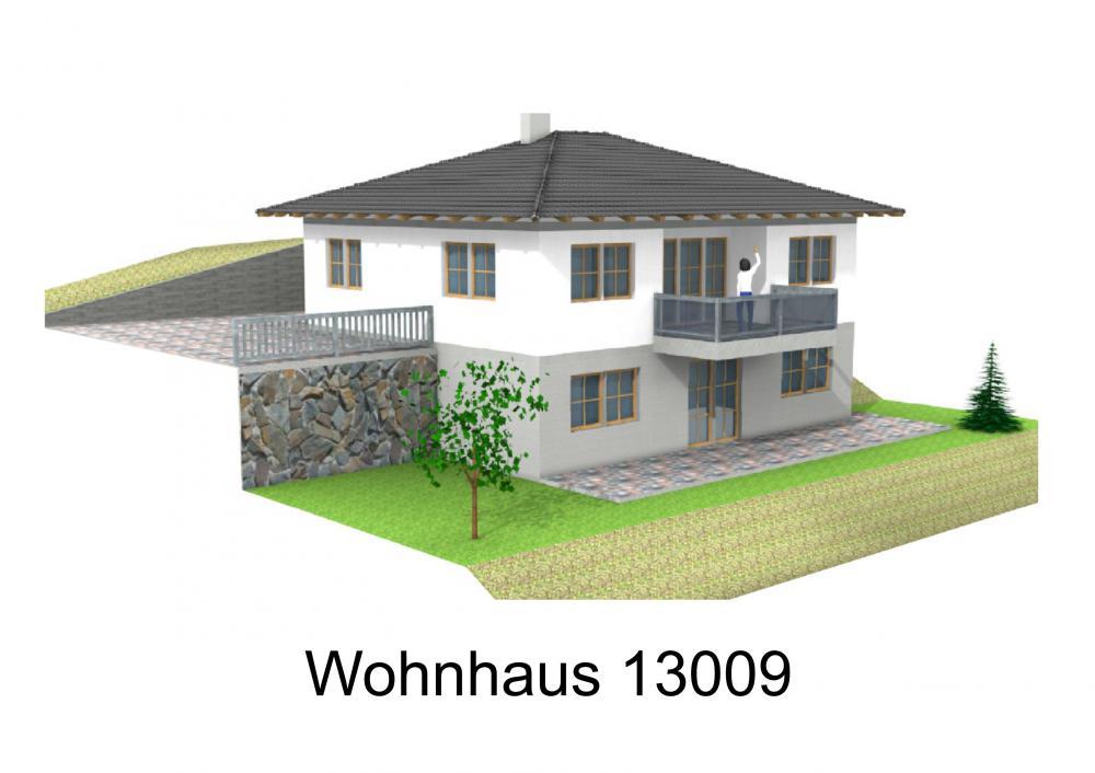 Rendering von Wohnhaus 13009