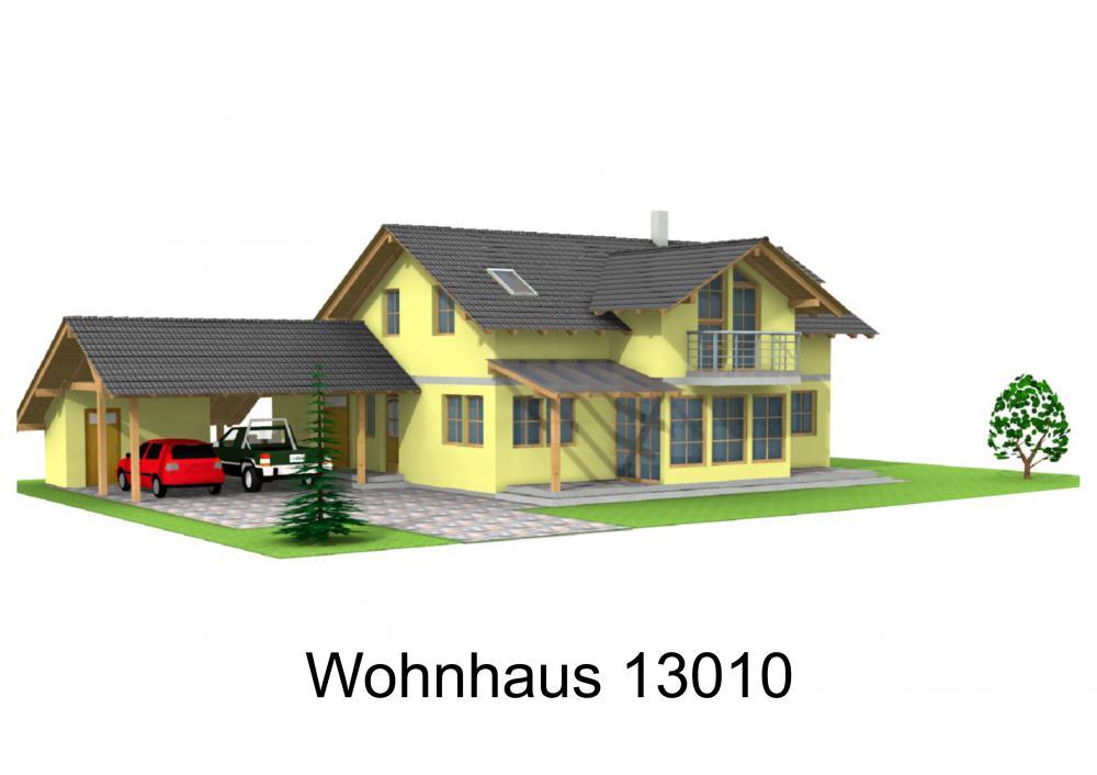Rendering von Wohnhaus 13010