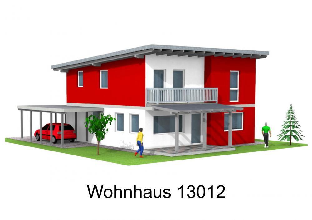 Rendering von Wohnhaus 13012