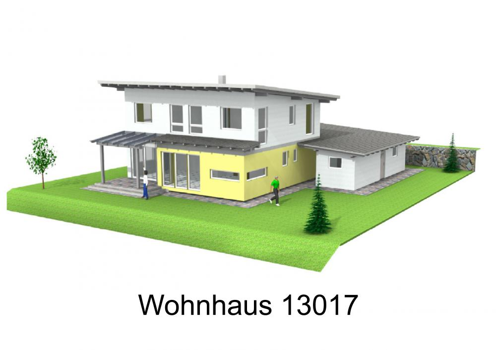Rendering von Wohnhaus 13017