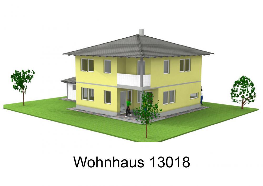 Rendering von Wohnhaus 13018