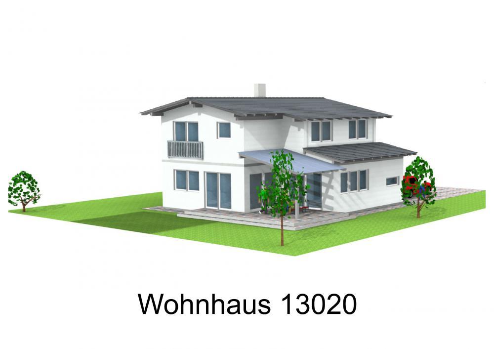 Rendering von Wohnhaus 13020
