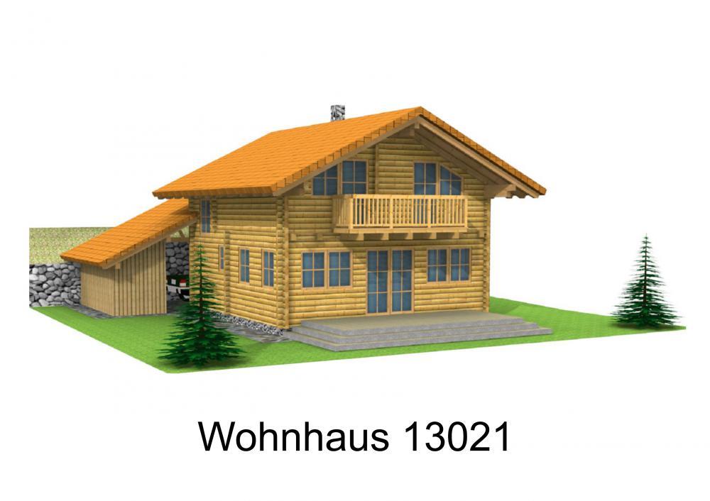 Rendering von Wohnhaus 13021