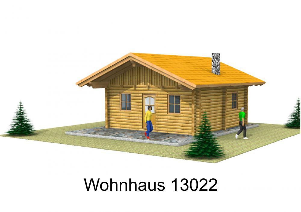 Rendering von Wohnhaus 13022
