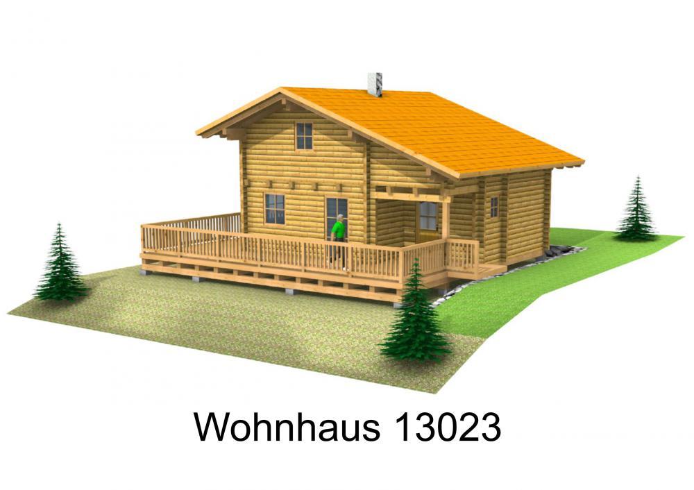 Rendering von Wohnhaus 13023