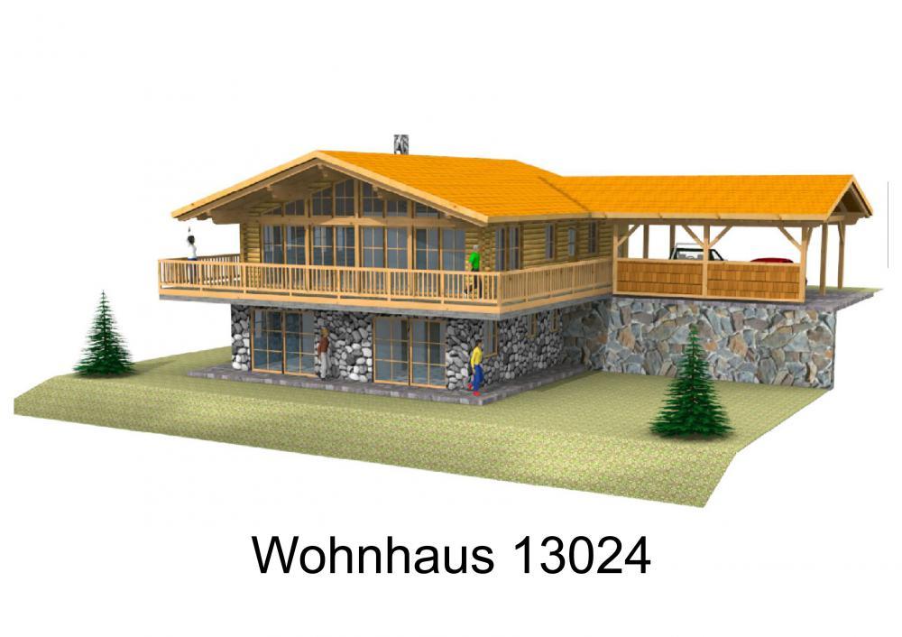 Rendering von Wohnhaus 13024