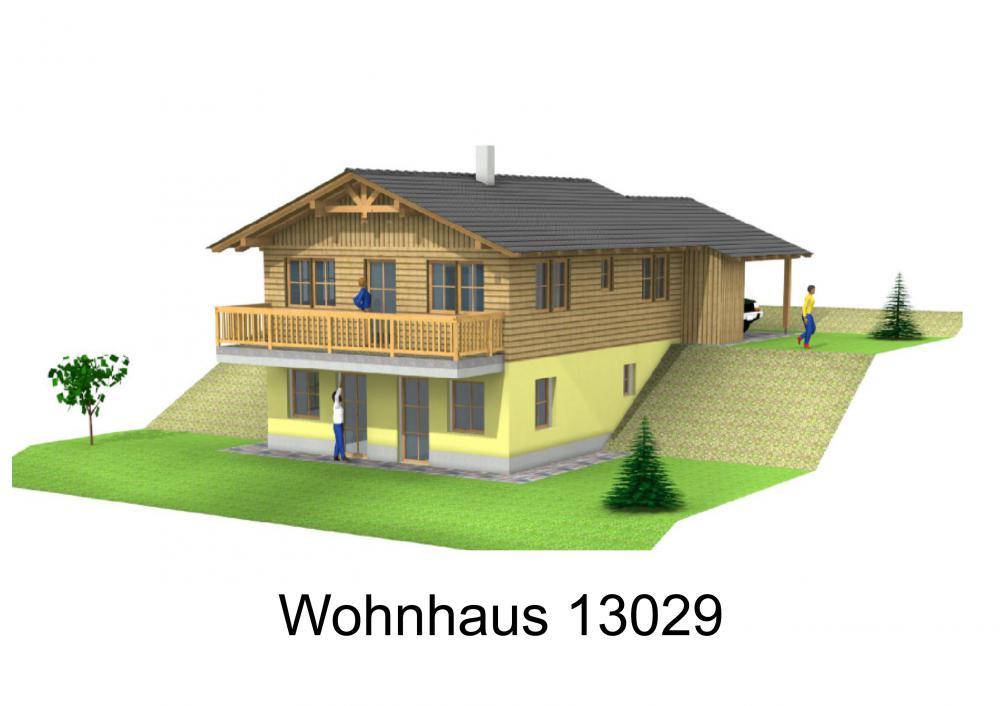 Rendering von Wohnhaus 13029