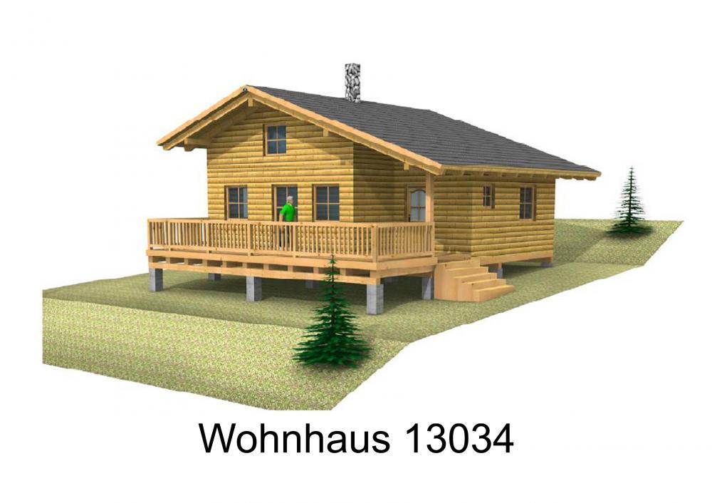 Rendering von Wohnhaus 13034