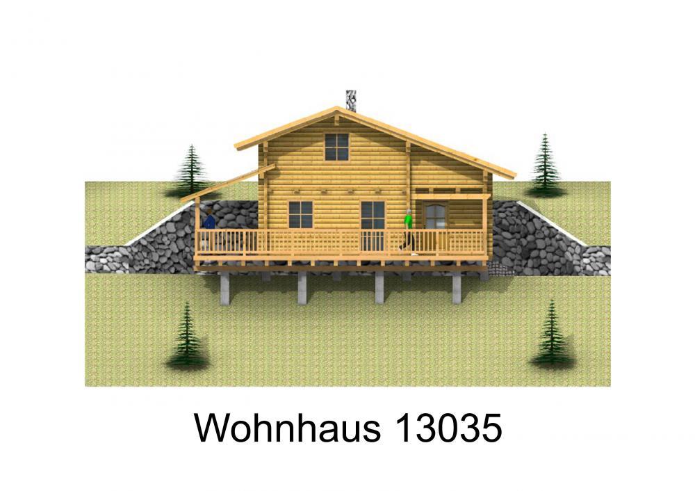 Rendering von Wohnhaus 13035