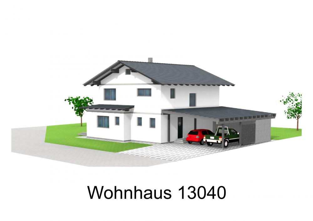 Rendering von Wohnhaus 13040