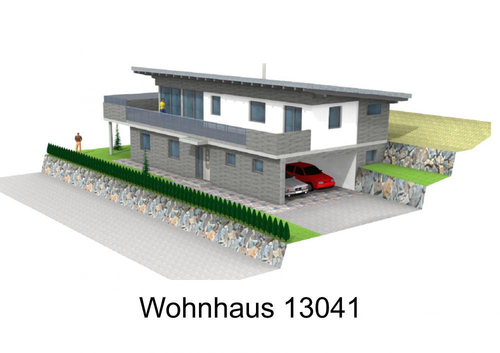 Rendering von Wohnhaus 13041