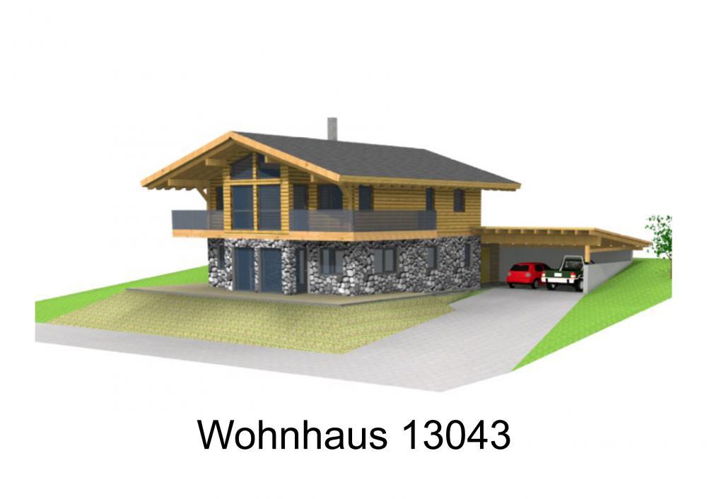 Rendering von Wohnhaus 13043