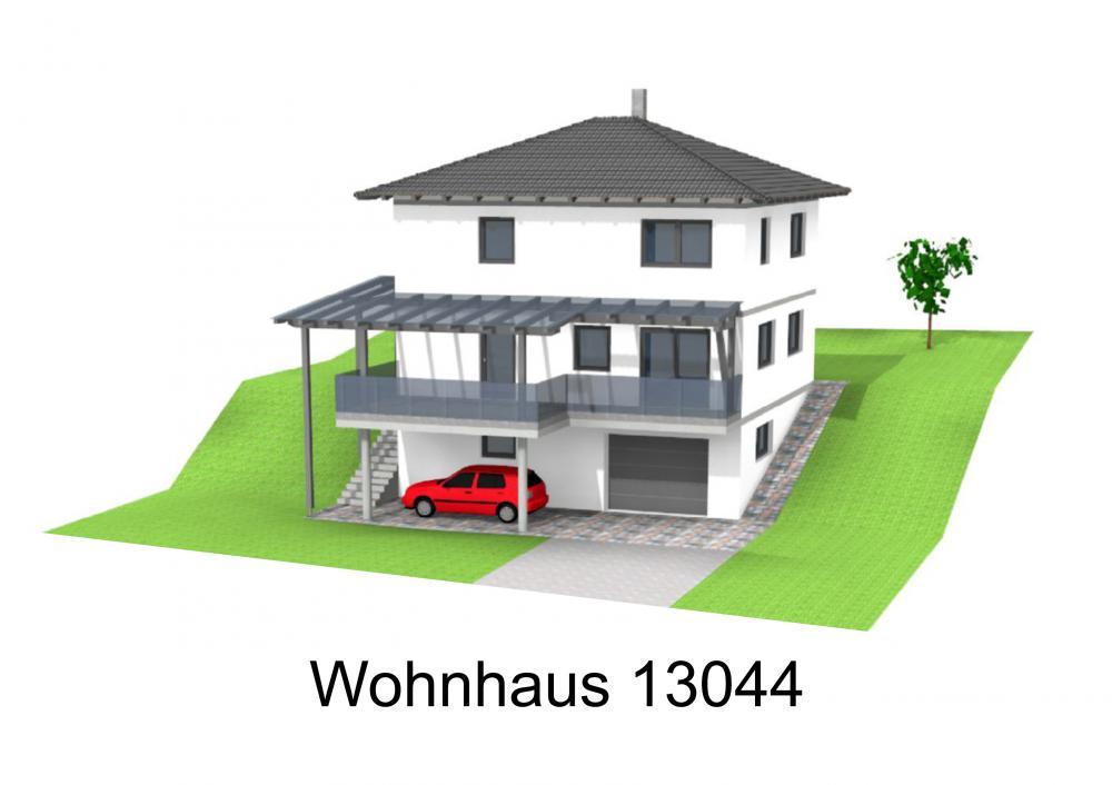 Rendering von Wohnhaus 13044